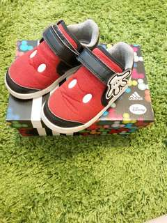 🚚 愛迪達 adidas 米奇鞋 男女童鞋 15cm