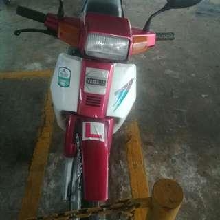 Second hand Yamaha 2T motorbike