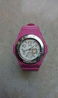 Baby G Pink Watch