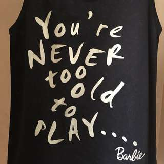 You're never too old mesh tee | Barbie | 418-LP02