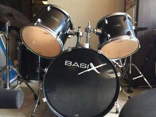 Basix Drum set