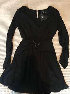Paper heart corset dress