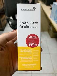 fresh herb natural pacific herb serum