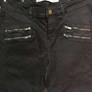 Zara Trafaluc | Jeans / pants in dark gray👖 | 318-EB09