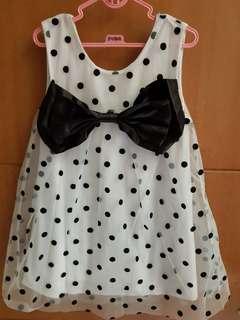 Carter's Dress Polkadot Tille for 4-5yo
