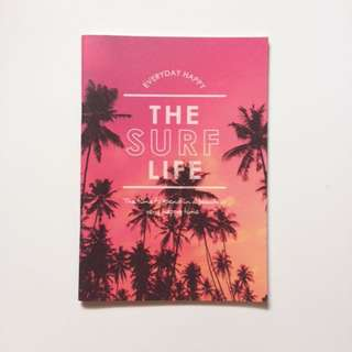 The Surf Life Notebook