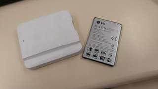 LG G3 電池(BL-53YH) 連原裝叉電盒 (可以郵寄 Include postage fee)