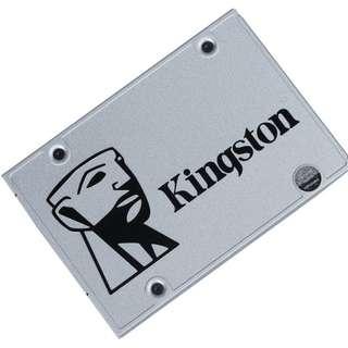 (二手)Kingston UV400 Series SUV400S37 120GB 240GB 2.5″ SATA3 6Gb/s SSD 95%NEW