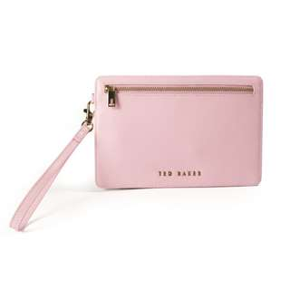 [女裝錢包]TED BAKER XHATCH LEATHER CURRENCY POUCH