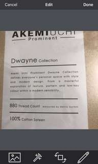 Akemi Quilt Cover Set