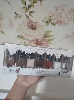 SEPHORA NAIL POLISH THE WONDERFUL SET (LIMITED EDITION)