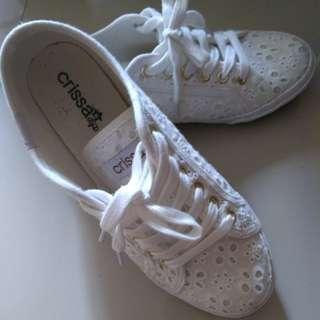Crissa White Shoes