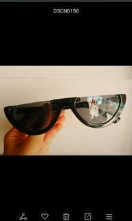 Black flat top shades