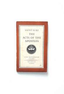 The Acts of the Apostles (Saint Luke)