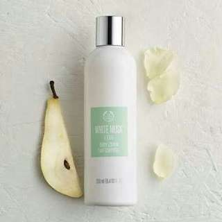The Body Shop white musk l'eau lotion