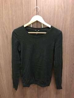 H&M Basic Black Sweater