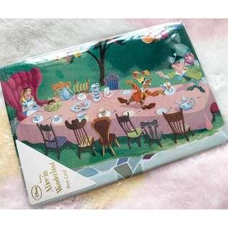 日本版 - 日本製迪士尼愛麗絲厚身硬卡明信片 Disney Alice in wonderland Vintage postcard -A