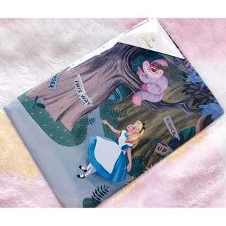 日本版 - 日本製迪士尼愛麗絲厚身硬卡明信片 Disney Alice in wonderland Vintage postcard -B