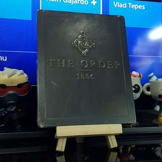 ps4 The Order 1886  SEALED steelbook