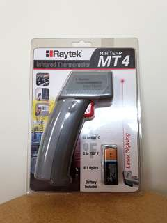 Raytek MT4 手持式紅外線測溫槍/ 測溫儀/ 溫度計 [原價: $488]