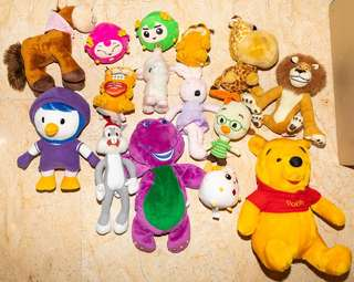 Soft toys & more