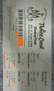 Twice Ticket Concert In Malaysia