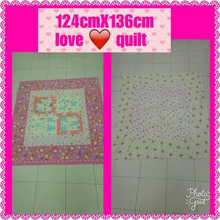 Children patchwork quilt