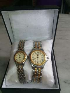 Sepasang (Couple) jam tangan US POLO Association Original