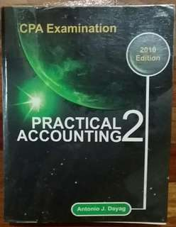 Practical Accounting 2 CPA Examination Reviewer by Antonio Dayag