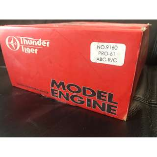 (❗️搬屋在即, 最後減價❗️)Thunder Tiger High Performance Model Engine