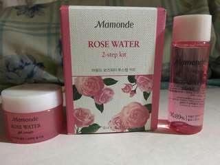 Rose water 2-step kit