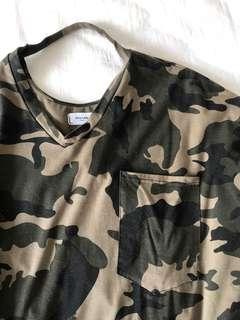 🚚 迷彩大Tshirt