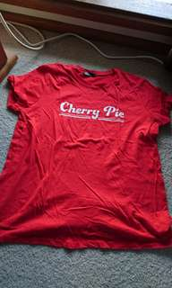 cherry pie tshirt! 🍒