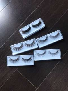 Eyelash human hair handmade