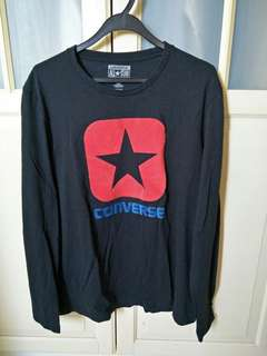 Converse pullover tee