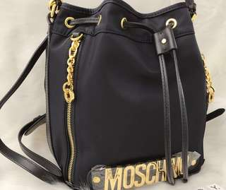 Moschino Logo-detailed Bucket Bag (small) No Bargain