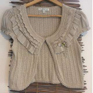 Forever New crop cardigan