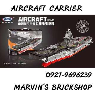 Latest XINGBAO Aircraft Carrier Building Block Toy