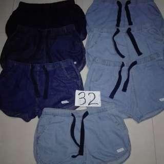 ladies  dolfinn shorts