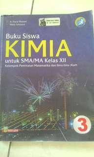 Buku Siswa KIMIA untuk SMA/MA Kelas XII (3 SMA)