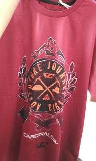 T-shirt cardinal ori 1000 %