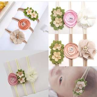 3pcs Baby headband set NEW
