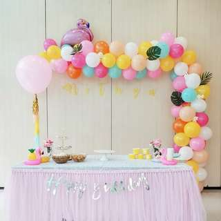 Birthday Party Decoration Setup