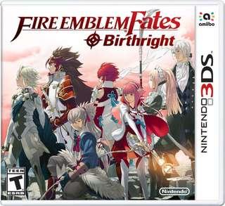 Fire Emblem Birthright 3DS