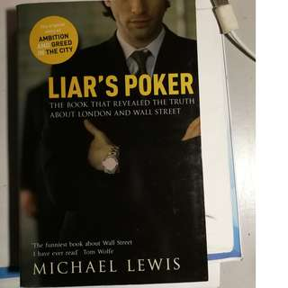 Michael Lewis	- Liars Poker