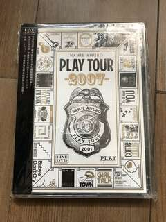 Namie Amuro 安室奈美惠 Play Tour 2007 DVD 港版