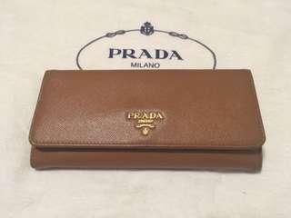 80% NEW Prada Long Wallet 長銀包