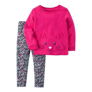 2-Piece Character Top & Legging Set