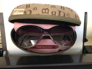 🚚 BELLE 百貨專櫃墨鏡 太陽眼鏡  漸層質感墨鏡 很輕好帶 沒什麼帶便宜賣