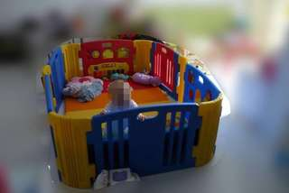 Haenim Play Yard (comes with choice of free new playmat)